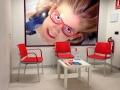 Sala de espera para terapia visual