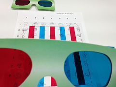 Terapia visual - Ejercicios para mejorar el uso de los dos ojos, la binocularidad