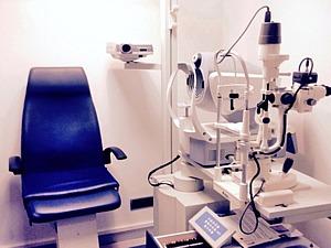 Gabinete de optometría