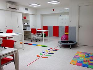 Sala de terapia visual